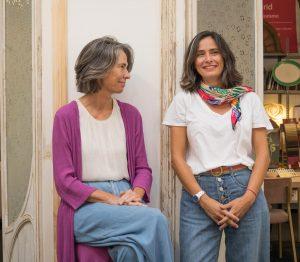 Gabriela y Aurora de Lamadrid en el Estudio