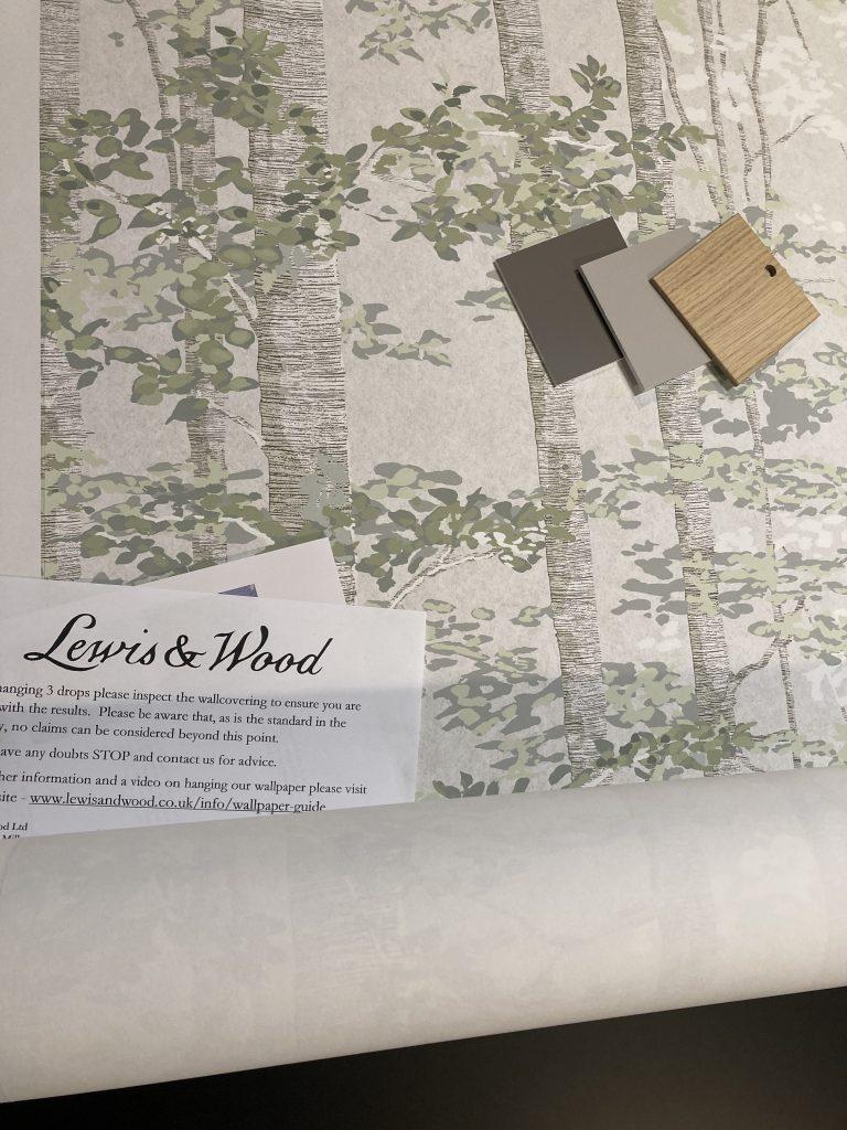 Papel pintado Lewis and wood