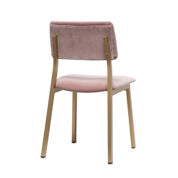 Pareja de sillas años 70. Detrás